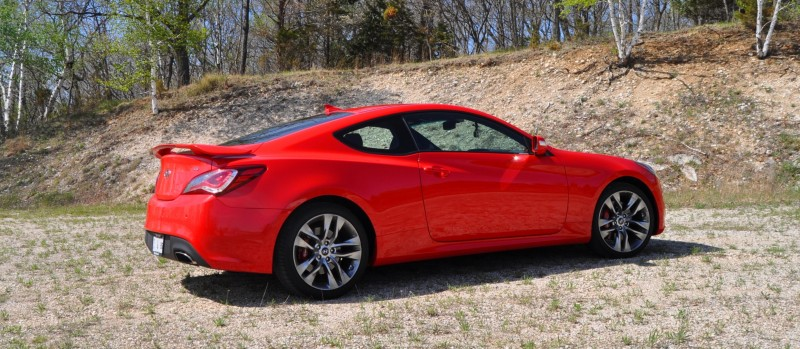 2014 Hyundai Genesis Coupe 3.8L V6 R-Spec - Road Test Review of FAST and FUN RWD Sportscar 31