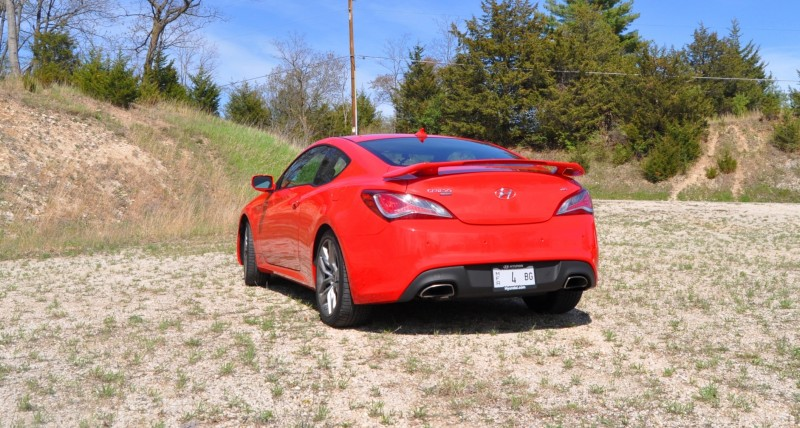 2014 Hyundai Genesis Coupe 3.8L V6 R-Spec - Road Test Review of FAST and FUN RWD Sportscar 45