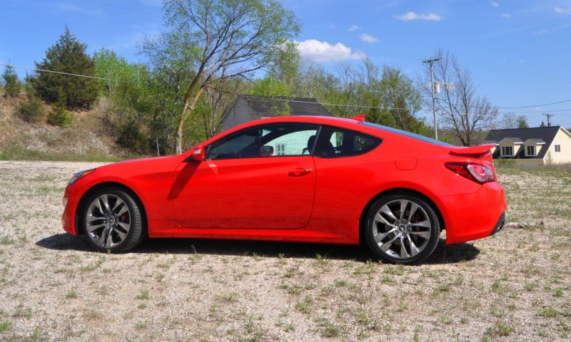 2014 Hyundai Genesis Coupe 3.8L V6 R-Spec - Road Test Review of FAST and FUN RWD Sportscar 53