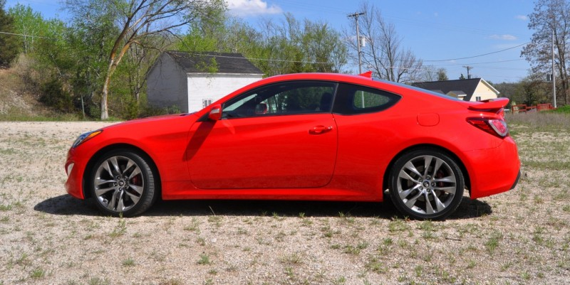 2014 Hyundai Genesis Coupe 3.8L V6 R-Spec - Road Test Review of FAST and FUN RWD Sportscar 54