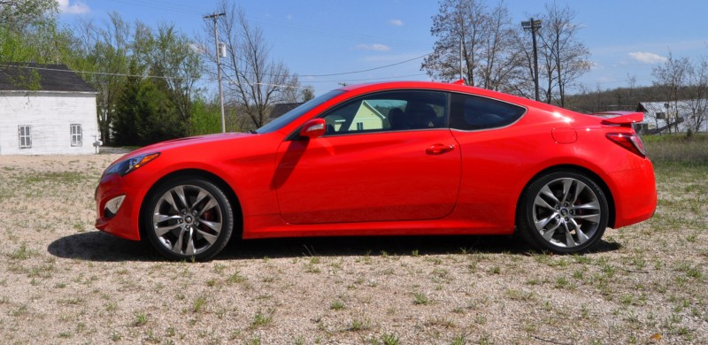 2014 Hyundai Genesis Coupe 3.8L V6 R-Spec - Road Test Review of FAST and FUN RWD Sportscar 56