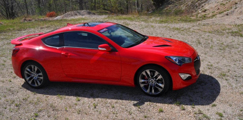 2014 Hyundai Genesis Coupe 3.8L V6 R-Spec - Road Test Review of FAST and FUN RWD Sportscar 76