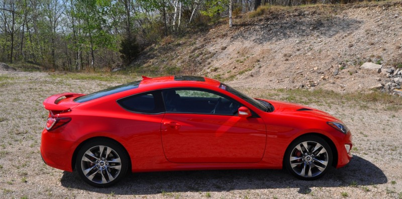 2014 Hyundai Genesis Coupe 3.8L V6 R-Spec - Road Test Review of FAST and FUN RWD Sportscar 80