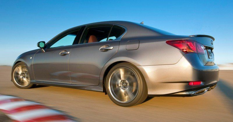 2014 Lexus GS350 and GS F Sport - Buyers Guide Info 17