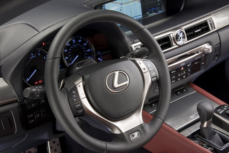 2014 Lexus GS350 and GS F Sport - Buyers Guide Info 26