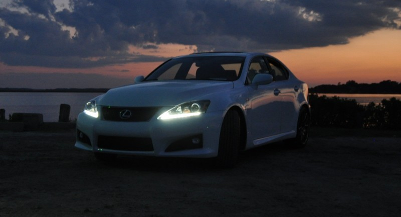 2014 Lexus IS-F Looking Sublime in Sunset Photo Shoot 17