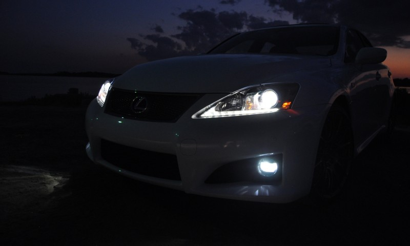 2014 Lexus IS-F Looking Sublime in Sunset Photo Shoot 27