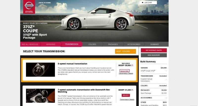 2014 Nissan 370Z Coupe - Colors, Specs, Options and Prices from $30k 65
