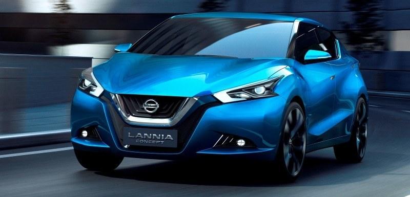 2014 Nissan Lannia Concept Previews Next Leaf EV 8