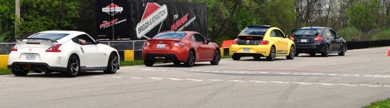 2014 Volkswagen Beetle GSR Scoots Around Go-Kart Autocross at Road America 30