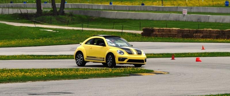 2014 Volkswagen Beetle GSR Scoots Around Go-Kart Autocross at Road America 33