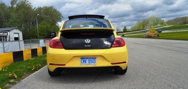 2014 Volkswagen Beetle GSR Scoots Around Go-Kart Autocross at Road America 46