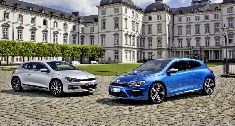 Der neue Volkswagen Scirocco und Scirocco R