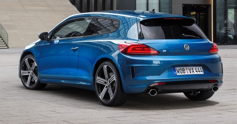 2014 Volkswagen Scirocco R and R-Line - Dynamic Launch Galleries 35