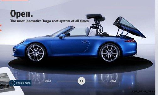 2014 911 TARGA ANIMATION Images 54