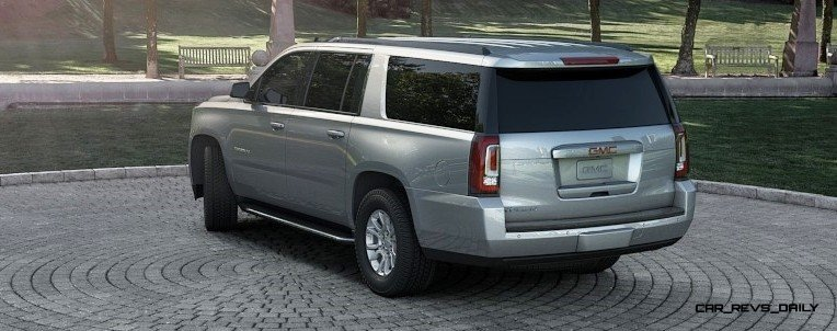 2015 GMC Yukon XL - Animated Turntables of 9 Color Choices 24