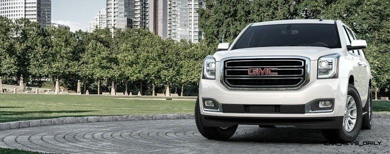 2015 GMC Yukon XL - Animated Turntables of 9 Color Choices 256