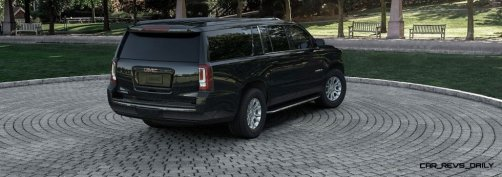 2015 GMC Yukon XL - Animated Turntables of 9 Color Choices 41