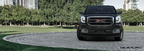 2015 GMC Yukon XL - Animated Turntables of 9 Color Choices 51