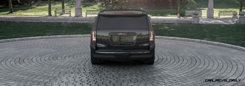 2015 GMC Yukon XL - Animated Turntables of 9 Color Choices 53