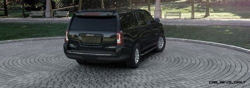 2015 GMC Yukon XL - Animated Turntables of 9 Color Choices 57