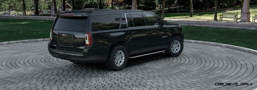 2015 GMC Yukon XL - Animated Turntables of 9 Color Choices 65