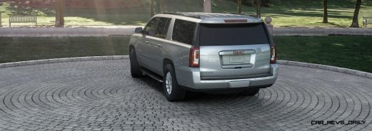 2015 GMC Yukon XL - Animated Turntables of 9 Color Choices 8
