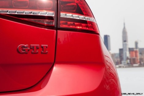 2015 VW Golf TSI 3dr Joins TDI and GTI in Brooklyn en Route to Detroit Show 21
