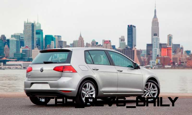 2015 VW Golf TSI 3dr Joins TDI and GTI in Brooklyn en Route to Detroit Show 25