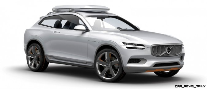 2015 Volvo XC90 Closely Previewed by New XC Coupe Concept for Detroit 14