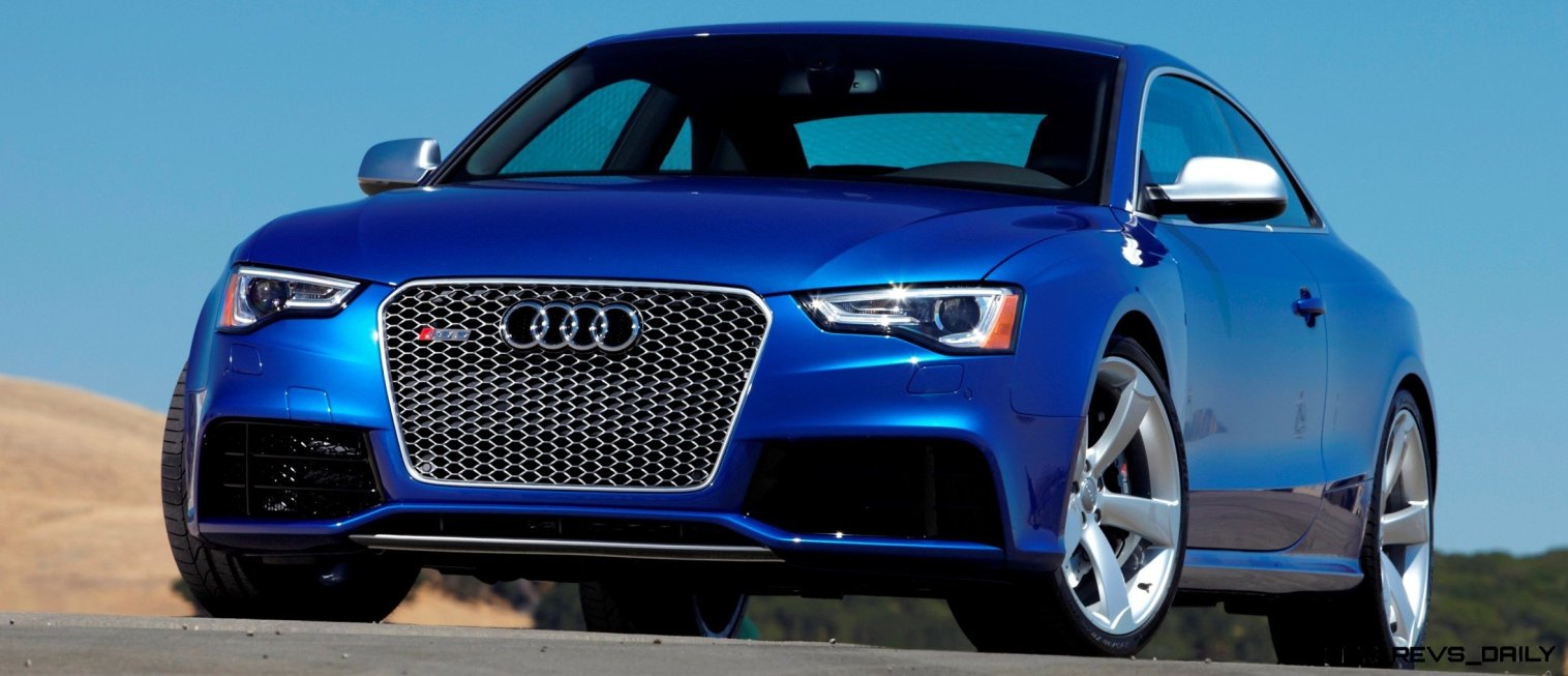 Audi RS5 Coupe Track Photos 5