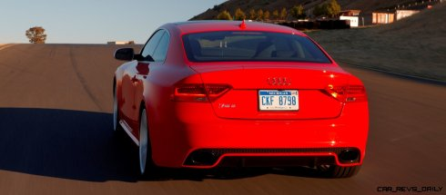 Audi RS5 Coupe Track Photos 9