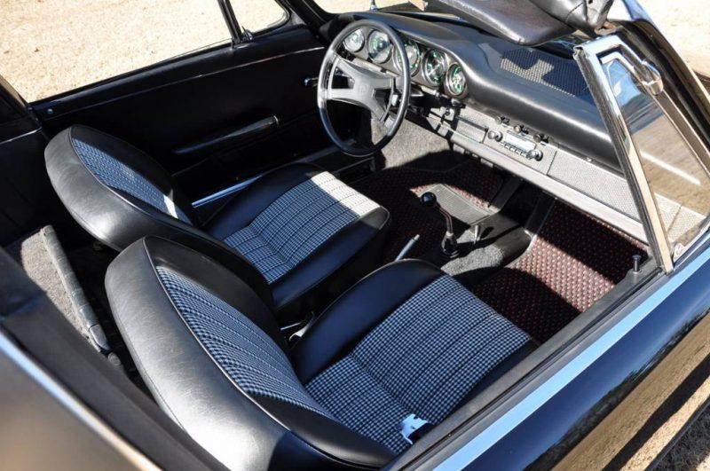 Black 1967 Porsche 911S Soft Window TARGA for sale in Raleigh NC 19