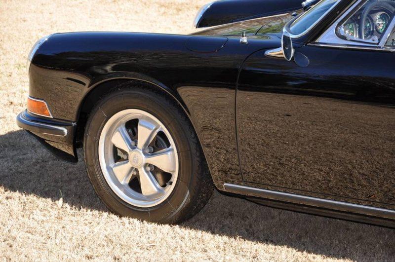 Black 1967 Porsche 911S Soft Window TARGA for sale in Raleigh NC 42