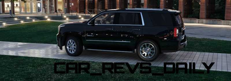 CarRevsDaily - 2015 GMC Yukon Denali - Colors - Onyx Black 10