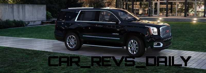 CarRevsDaily - 2015 GMC Yukon Denali - Colors - Onyx Black 45