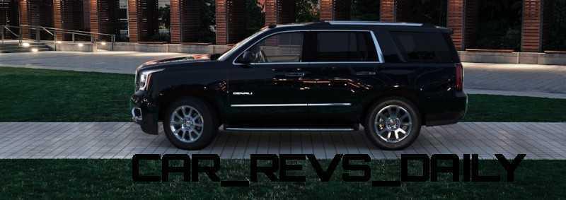 CarRevsDaily - 2015 GMC Yukon Denali - Colors - Onyx Black 8