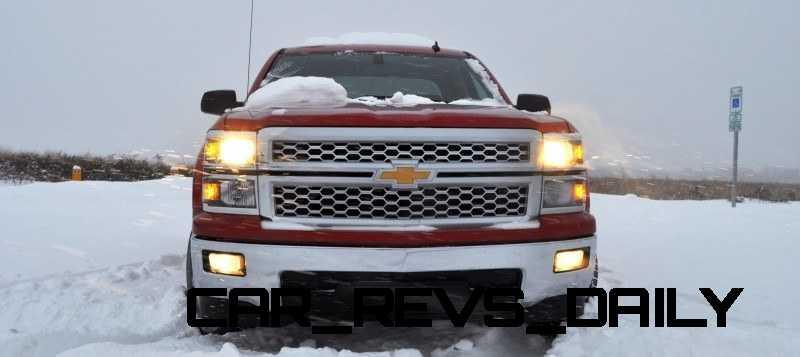 CarRevsDaily - Snowy Test Photos - 2014 Chevrolet Silverado All-Star Edition 3