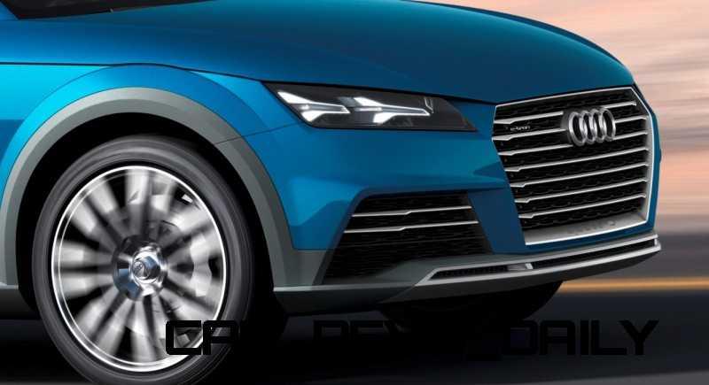 CarRevsDaily.com - 2014 Audi Allroad Shooting Brake Concept (Q2 e-tron) 1-crop
