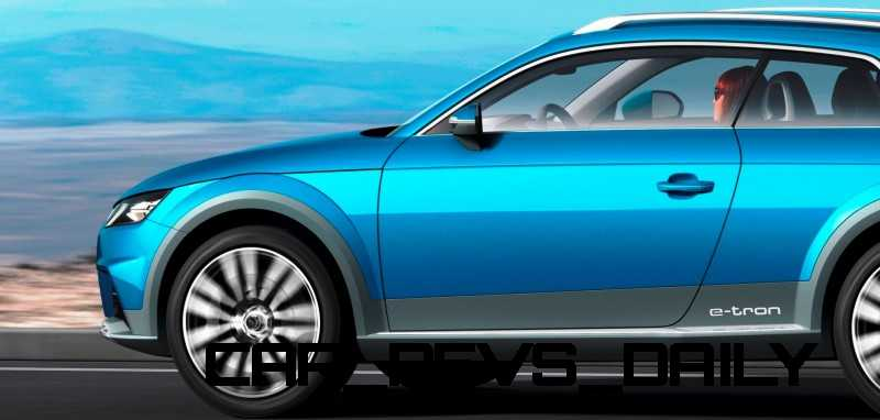 CarRevsDaily.com - 2014 Audi Allroad Shooting Brake Concept (Q2 e-tron) 2-crop2