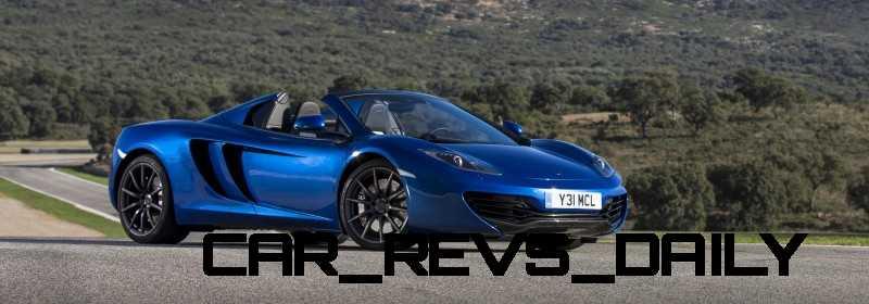 CarRevsDaily.com - 2014 McLaren 12C Spider Updates 50