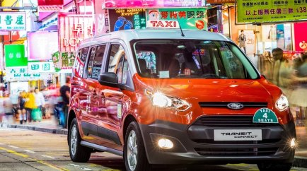 Ford Transit Connect Taxi in Hong Kong