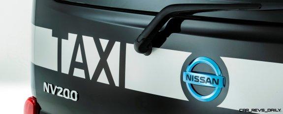 Nissan NV200 London Taxi concept