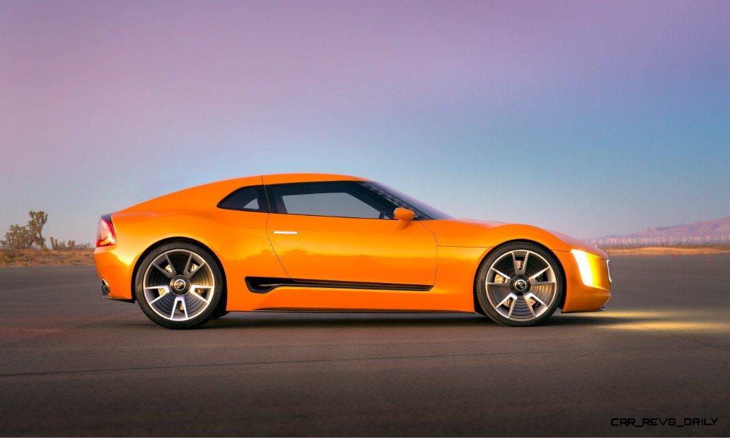 CarRevsDaily.com -- KIA GT4 STINGER Concept -- Track Thrills -- RWD Layout -- 315HP Turbo -- Lightweight Aero Shell 12