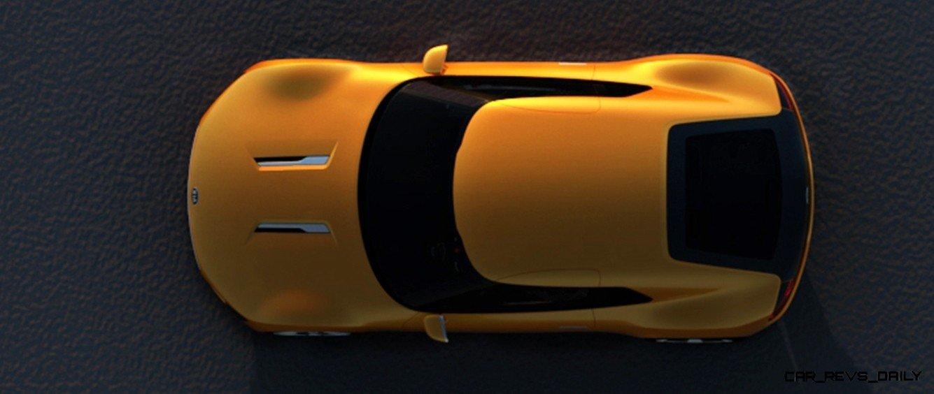 CarRevsDaily.com -- KIA GT4 STINGER Concept -- Track Thrills -- RWD Layout -- 315HP Turbo -- Lightweight Aero Shell 13
