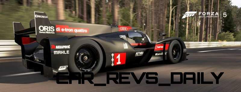 CarRevsDaily.com - Laser Lighting for 2014 AUDI R18 LeMans 59