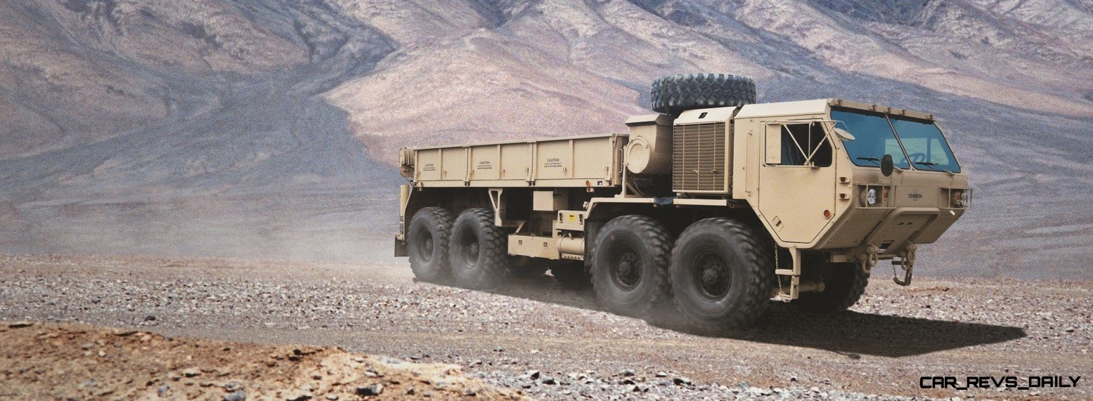 CarRevsDaily.com - Oshkosh Defense Medium and Heavy Showcase 7