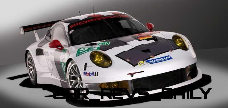 CarRevsDaily.com - Porsche 911 Racers Compared - 2014 Porsche 911 RSR (Type 991) 6