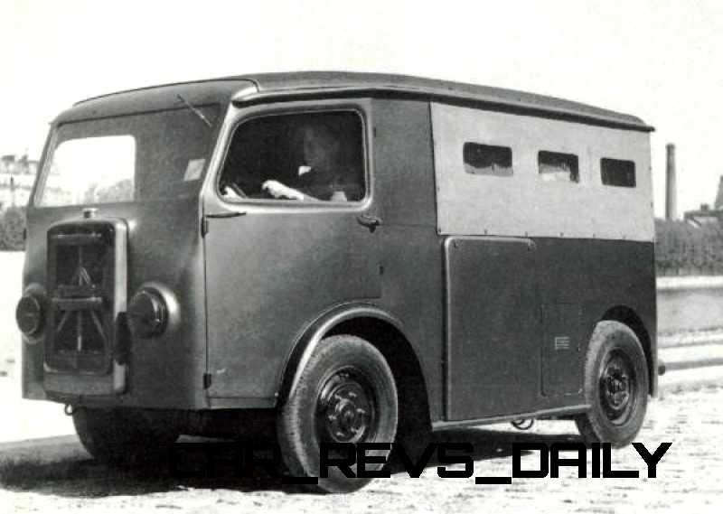 Concept Flashback - 2011 Citroen Tubik Brings Delightful Shapes of 1930's Tub Vans 2