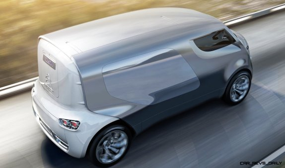 Concept Flashback - 2011 Citroen Tubik Brings Delightful Shapes of 1930's Tub Vans 3